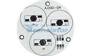 Плата D55-3E 1R-1G-1B Emitter (3x LED, 000-04)