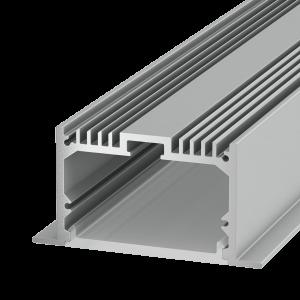 LE6332 Встраиваемый алюминиевый профиль 2,5метра