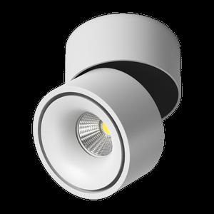 Светильник светодиодный потолочный накладной Поворотный, серия MJ-2080, Белый, 8Вт, IP20, Теплый белый (3000К)