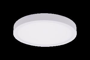 Светильник светодиодный потолочный накладной ультратонкий, серия KH, Белый, 22Вт, IP20, Нейтральный белый (4000К)