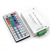 Контроллер RGB радиоуправляемый с пультом 44 кнопки 12/24в 18А