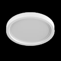Светильник потолочный светодиодный встраиваемый ультратонкий, серия KH-RC, Белый, 9Вт, IP20, Нейтральный белый (4000К)