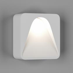 Бра встраиваемое для подсветки лестницы/пола , Белый, 1Вт, 3000K, IP20, GW-S680-1-WH-WW