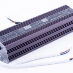 Блок питания для светодиодной ленты 24В, 6,25А, 150Вт, IP67, влагозащищенный в металлическом корпусе