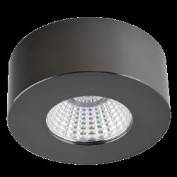 LC1528-BK Накладной Светильник черный 4000K 7W (FUTUR2-B)