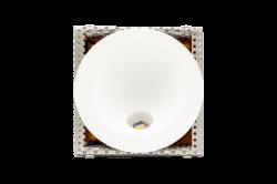 Бра декоративное , Белый, 3Вт, 3000K, IP, GW-R806-3-WH-WW