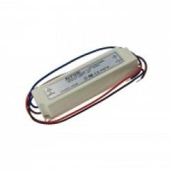 Блок питания для светодиодной ленты 24В, 1,7А, 40Вт, IP67, герметичный в пластиковом корпусе