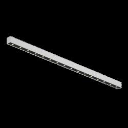 Светильник светодиодный потолочный накладной , серия FA, Черно-белый, 20,5Вт, IP20, Теплый белый (3000К)