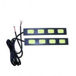 Дневные ходовые огни Car Profi CP-COB-4 SMD 10-15V, раздельные плоские