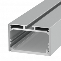 LS4932 Накладной алюминиевый профиль 2,5метра