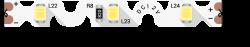 Лента светодиодная стандарт FLEX SMD 2835, 60 LED/м, 9 Вт/м, 12В , IP20, Цвет: Ультра холодный белый