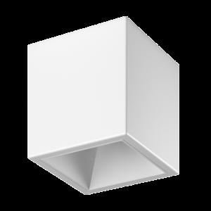 Светильник светодиодный потолочный накладной , серия DL-SPL, Белый, 18Вт, IP20, Теплый белый (3000К)
