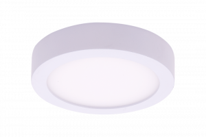 Светильник светодиодный потолочный накладной ультратонкий, серия KH, Белый, 9Вт, IP20, Нейтральный белый (4000К)