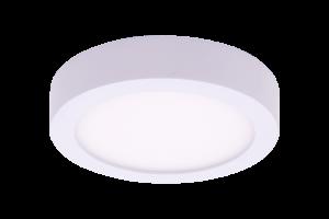 Светильник светодиодный потолочный накладной ультратонкий, серия KH, Белый, 15Вт, IP20, Нейтральный белый (4000К)