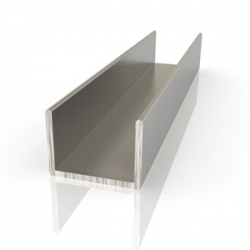 Алюминиевый швеллер 10*10*10мм