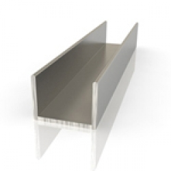 Алюминиевый швеллер 15*15*15мм