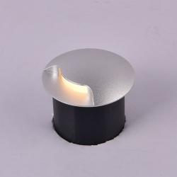 Бра встраиваемое для подсветки лестницы/пола COIN-1, Белый, 1Вт, 4000K, IP20, GW-812-1-1-WH-NW