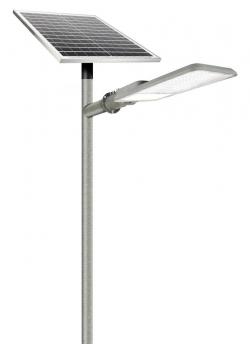 Светодиодный прожектор Кобра на солнечной батарее