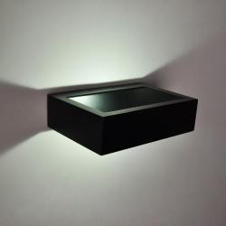 Бра декоративное FRAME, Черный, 10Вт, 3000K, IP20, GW-8110-10-BL-WW